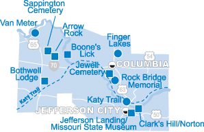 Missouri State Parks and Historic Sites - Central Region