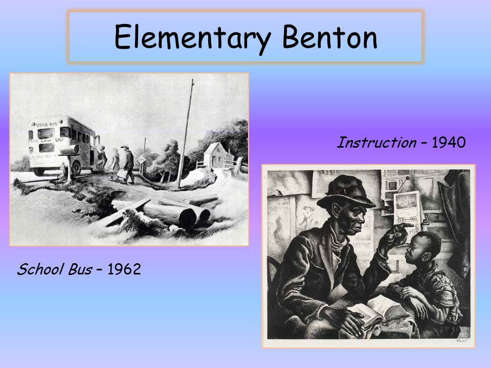 two of Benton's sketches