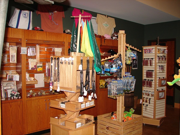 some of the items displayed inside the store