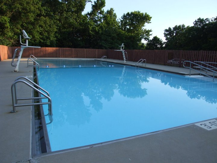 Swimming pool at Camp Bobwhite