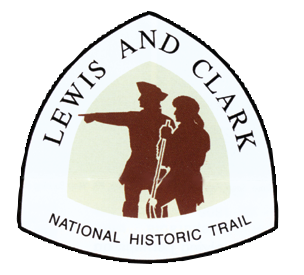 Lewis and Clark National Historic Trail logo