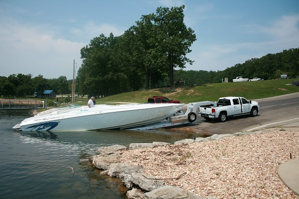 Boat Launch at Grand Glaize Beach Area | Missouri State Parks