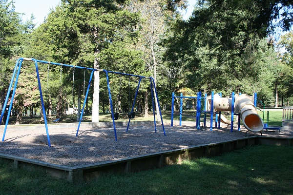 swings and a slide