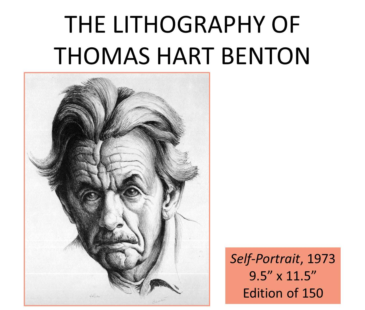 self portrait of Benton