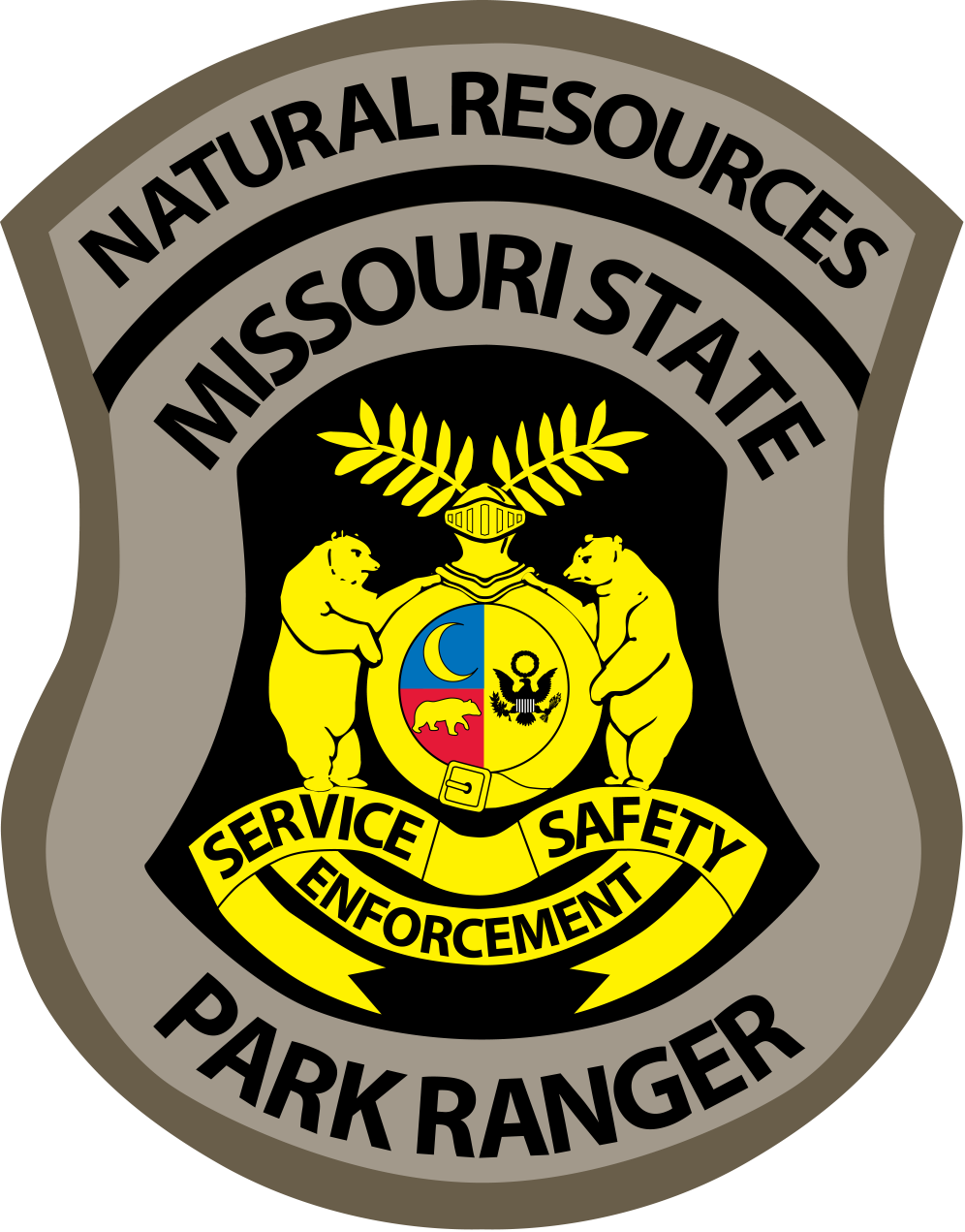 Missouri State Park Ranger badge