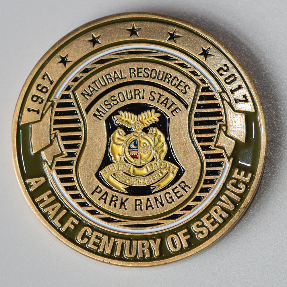 The 'Half Century of Service' Coin