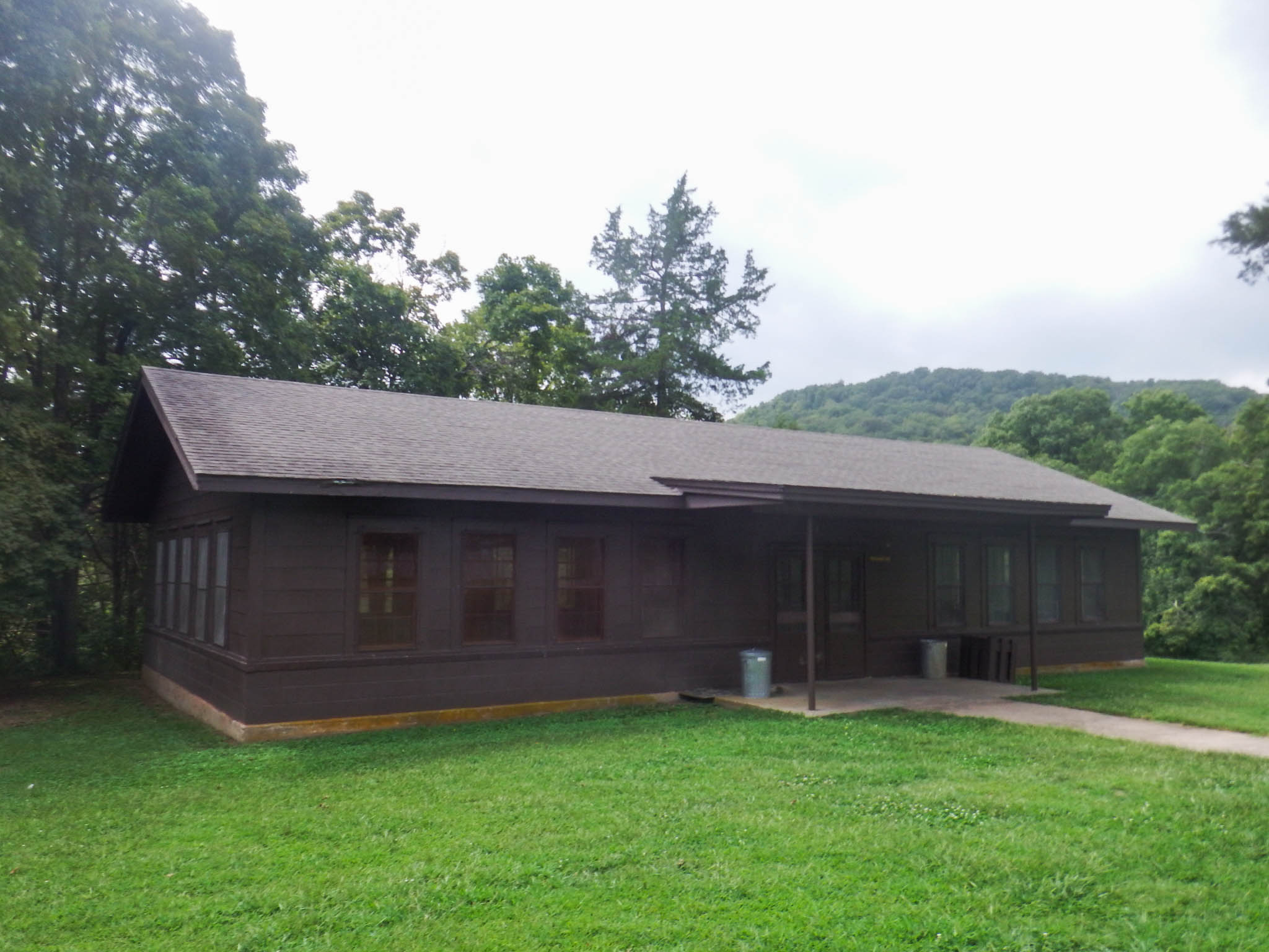 exterior of recreation hall