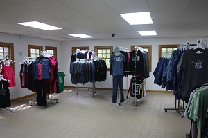 clothing items available in the store