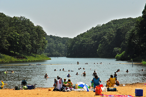 Swimming Missouri State Parks