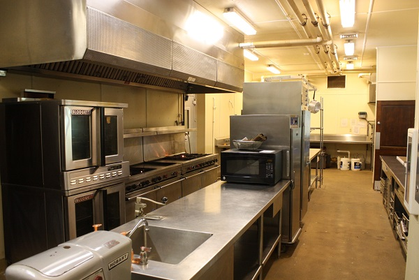 kitchen sink, ovens, counter space