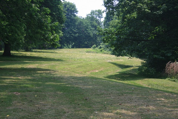 the Earthworks mounds