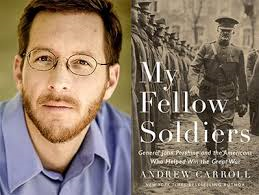 Carroll and his book My Fellow Soldiers