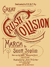 Great Crush Collision March sheet music cover