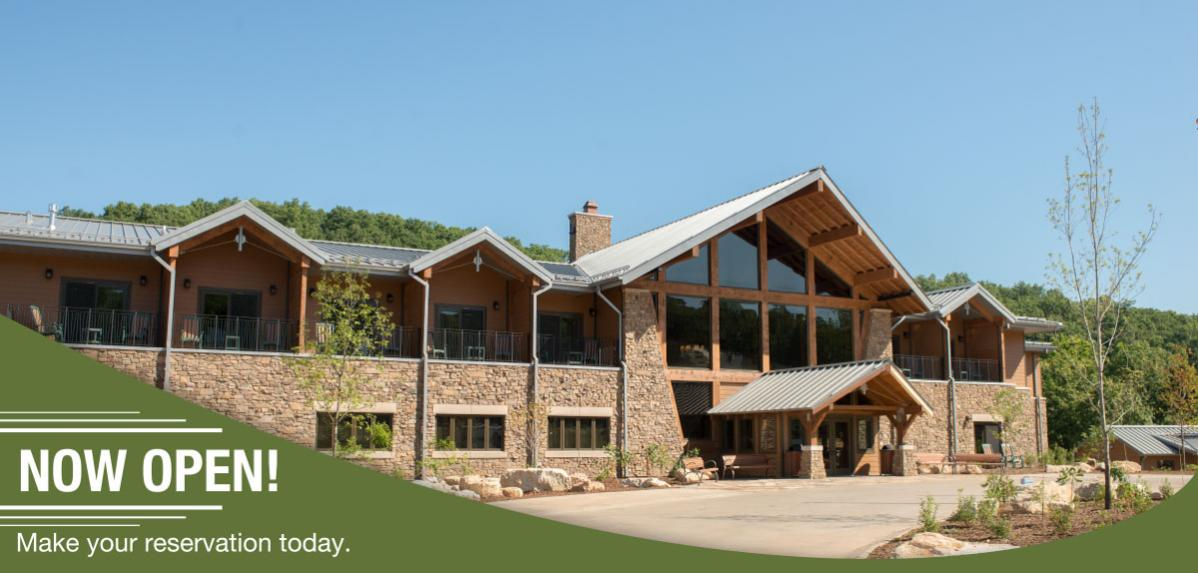 Echo Bluff State Park - Now Open - Make Reservations Now