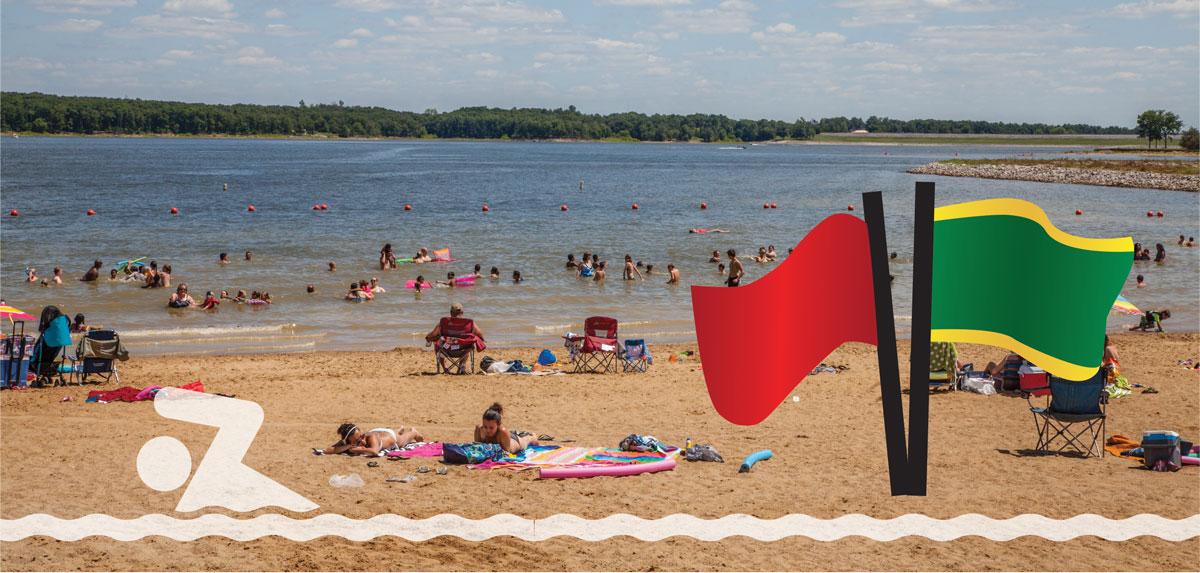 Check Beach Status