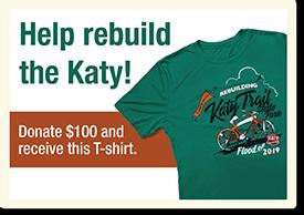 Katy Trail Flood Donations