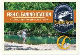 Roaring River Fish Cleaning