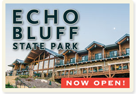 Echo Bluff State Park - Now Open