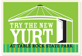 Table Rock State Park Yurt