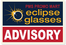 Eclipse Glasses Advisory