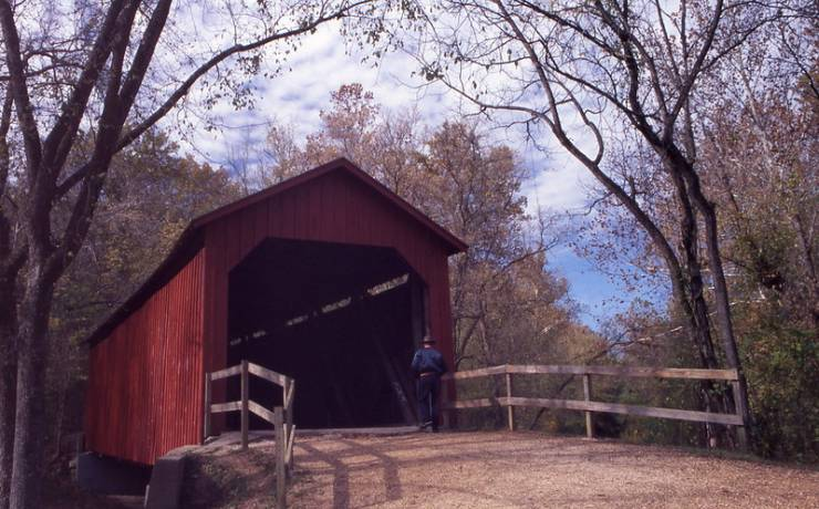 Sandy Creek Covered Bridge State Historic Site | Missouri