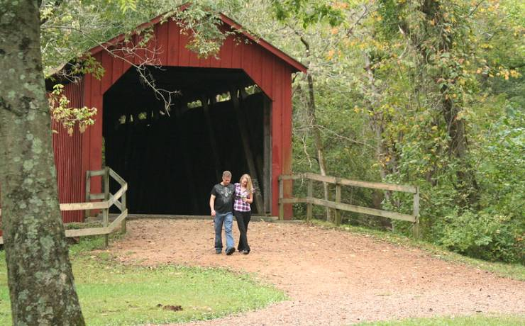 Sandy Creek Covered Bridge State Historic Site Missouri