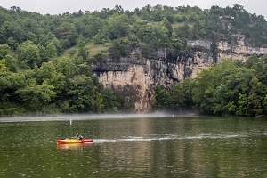 Kayaking on Lake of the Ozarks