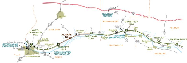 Jefferson City to Marthasville Section   Missouri State Parks