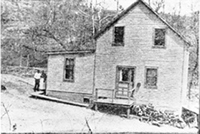 historic photo of Davis Mill