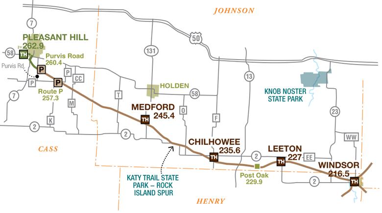 Rock Island Map Rock Island Spur | Missouri State Parks
